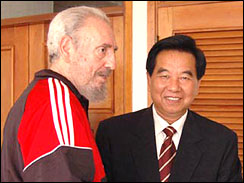 Fidel 39 s final farce for Farcical behavior